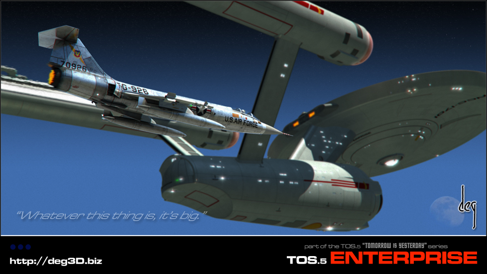 image of starship Enterprise